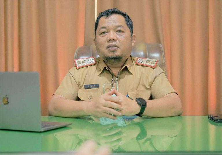 Aswin Saudo - Sekretaris BPKAD Prov. Sulteng